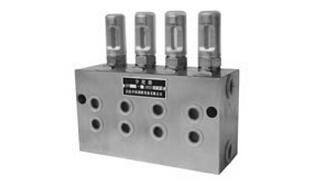 天津KW 系列双线分配器(20MPa)-干油分配器