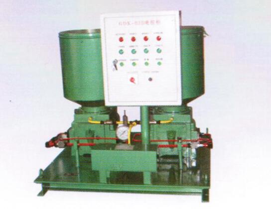 SDRB-N系列双列式电动润滑脂泵(31.5MPa)-电动干油泵
