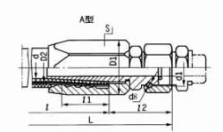 A型可拆式胶管接头
