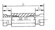 20MPa系列铜管用管接头