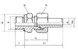 ZT系列锥密封焊接式管接头